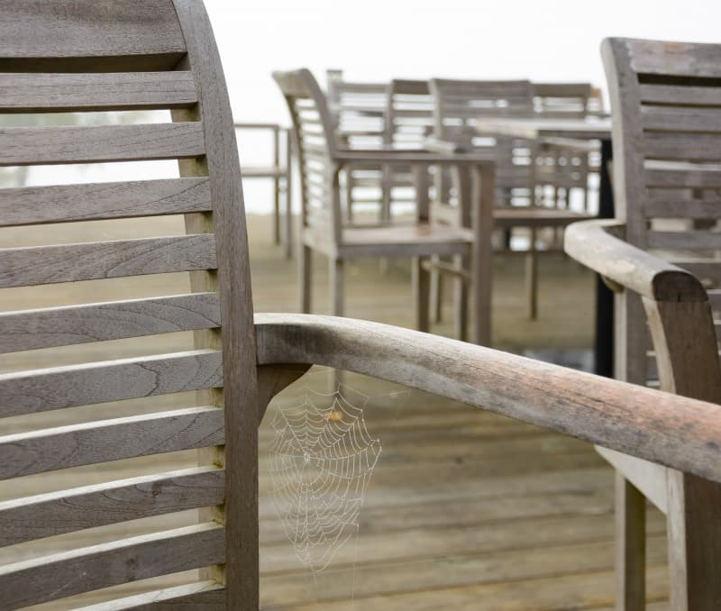 How to Care for Wooden Outdoor Furniture