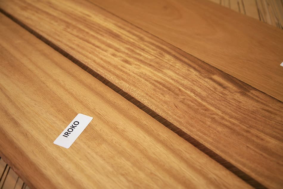 What is iroko wood?